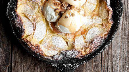äppel-och-karamell-tårta